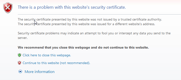 Creating Your Own SSL Certificate Authority (and Dumping Self Signed